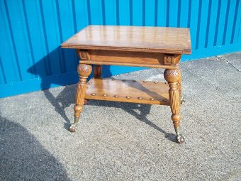 Antique 19th.Century Oak Centre Table,