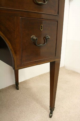 Antique George III Mahogany Inlaid Dressing Table/Side Table