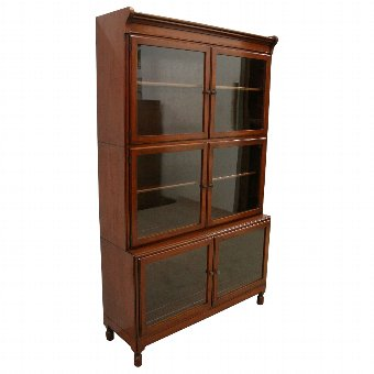 Antique Mahogany Sectional/Stacking Bookcase