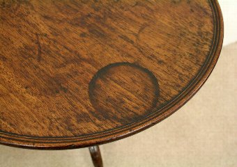 Antique George III Provincial Snap Top Occasional Table