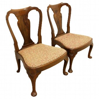 Antique Pair of Whytock & Reid Low Chairs