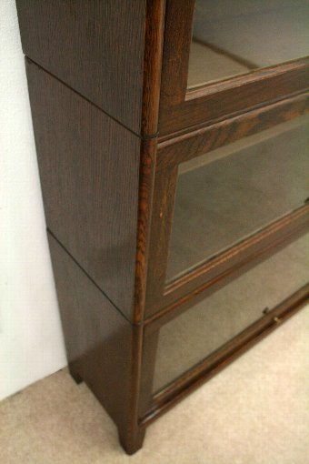 Antique Oak Sectional/Stacking Bookcase
