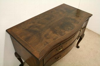 Antique George II Style Walnut Lowboy