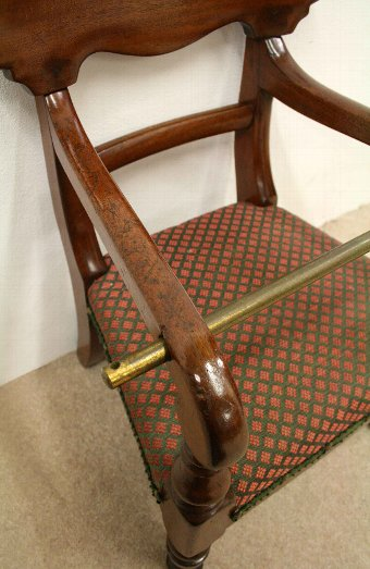 Antique Victorian Mahogany Child's Chair