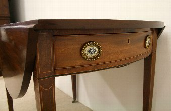 Antique Late George III Mahogany Pembroke Table