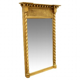 Antique George IV Gilt Pier Mirror