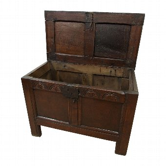 Antique Neat Oak Coffer