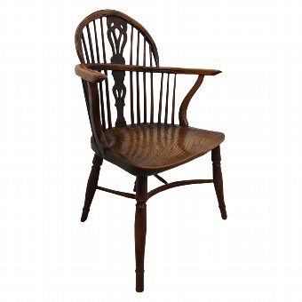Antique George III Windsor Chair
