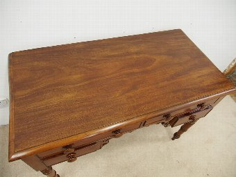 Antique William IV Mahogany Side Table