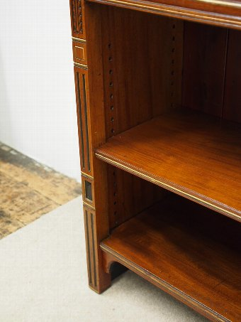 Antique Arts and Crafts Open Bookcase by Gillows and Co