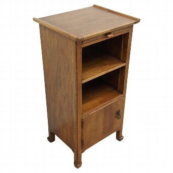 Antique Bedside Cabinet by Whytock and Reid
