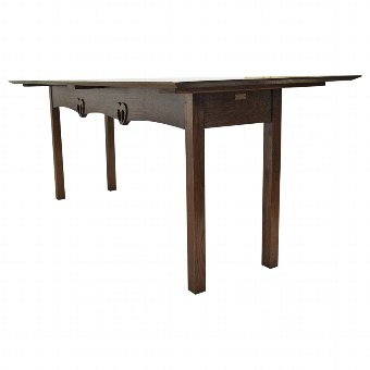 Antique Copy of McIntosh Elm Refectory Table