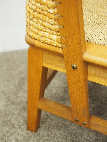 Antique Orkney Chair by Reynold Eunson for D.M Kirkness