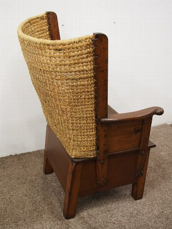 Antique Beech Orkney Chair