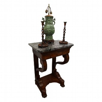 Antique French Empire Style Console Table