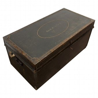 Antique George IV Travelling Trunk