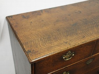 Antique George II Oak Chest of Drawers