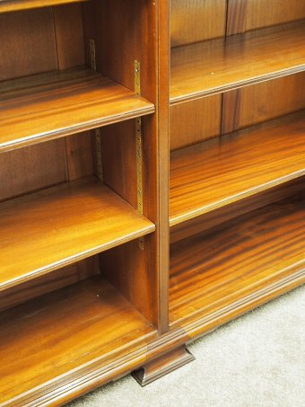 Antique Tall Oak Six Section Bookcase