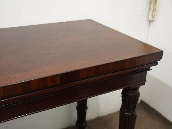 Antique William IV Mahogany Hall or Serving Table