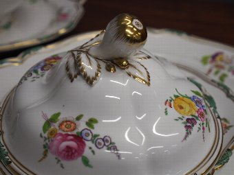 Antique Continental Part Dinner Service