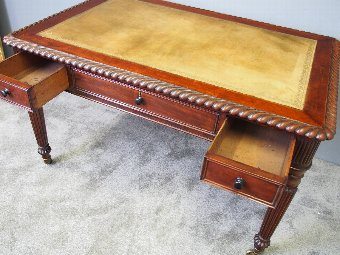 Antique George IV Mahogany Writing Table