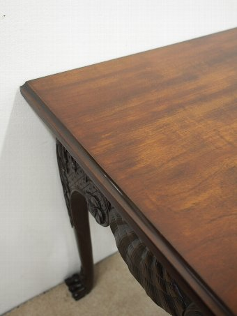 Antique George II Chippendale Style Mahogany Hall Table
