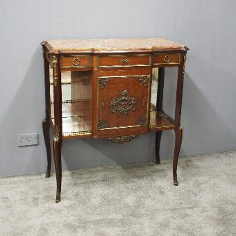 Antique French Mahogany Side Cabinet