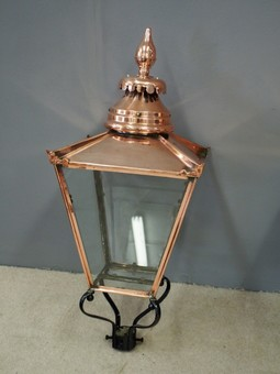 Antique Pair of Edinburgh Street Lamps or Lord Provost Lamps