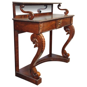 Scottish Regency Rosewood Chiffonier