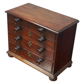 Georgian Mahogany Apprentice / Miniature Chest