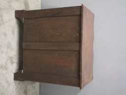 Antique Figured Walnut Chest of Drawers