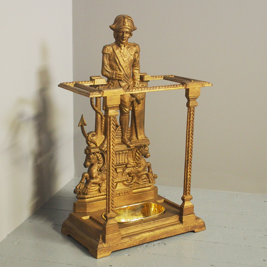 Lord Nelson Victorian Cast Iron Stick Stand
