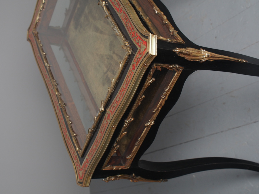 Antique Antique French Tortoiseshell Bijouterie Table
