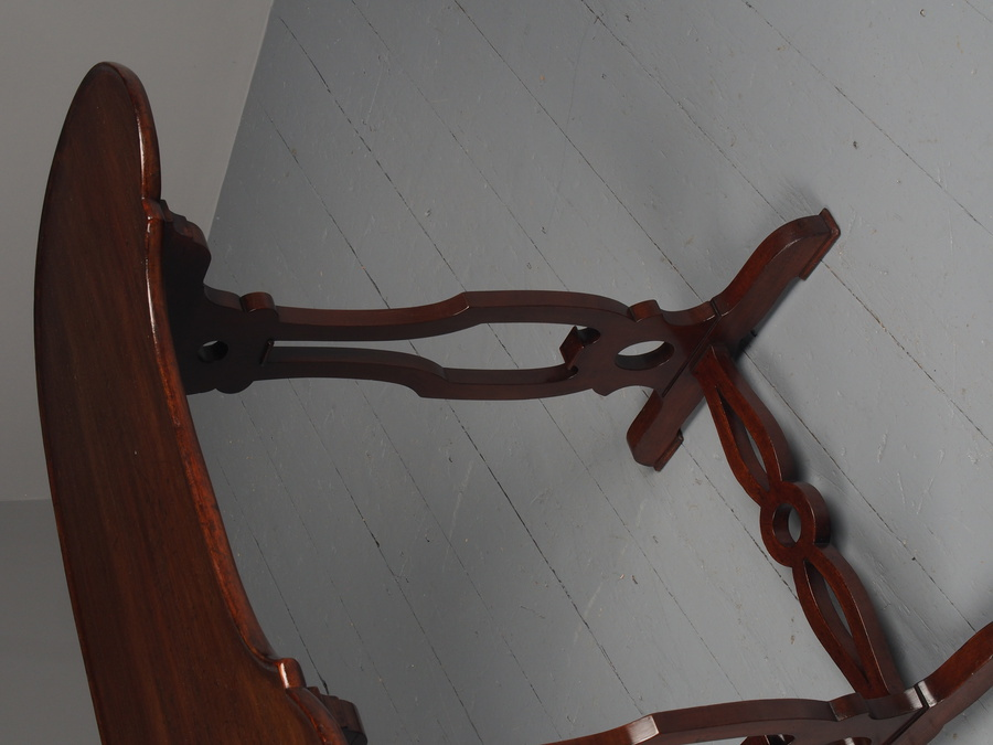 Antique Antique Mahogany Kidney Shaped Occasional Table