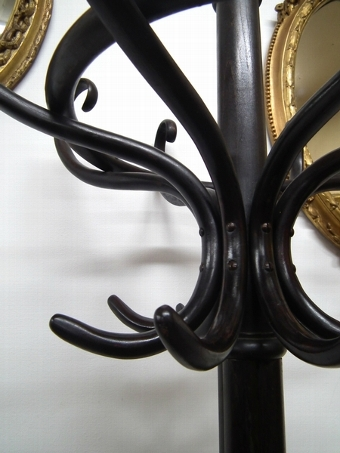 Antique Bentwood Hall Stand by Thonet