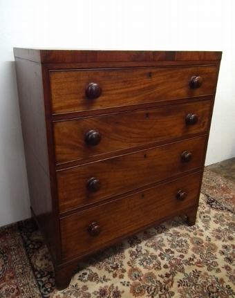 Antique George IV Mahogany Chest of Drawers