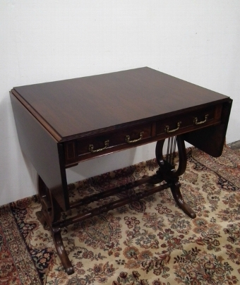 Antique Regency Style Sofa Table