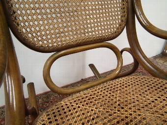 Antique Bentwood Rocking Chair
