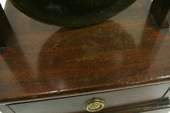 Antique Bronze Dinner Gong on Stand