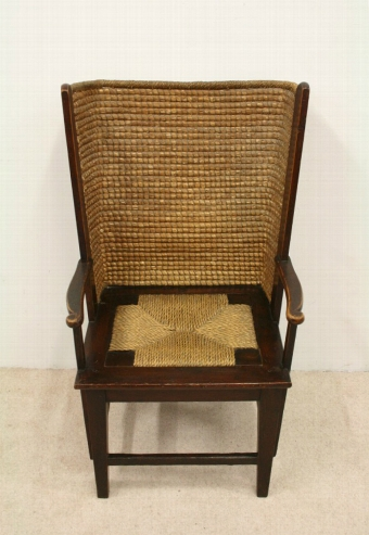 Antique Stained Pine Orkney Chair