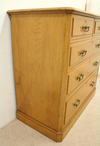Antique Exhibition Quality Ash Chest of Drawers