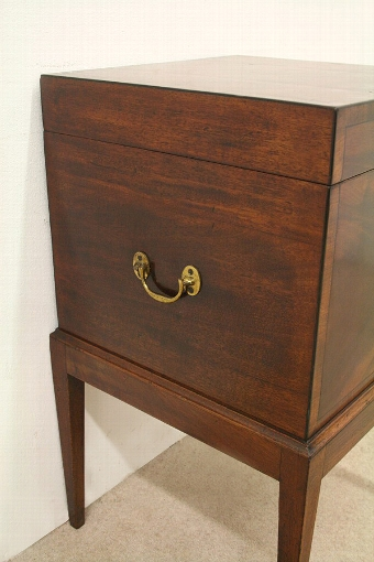 Antique George III Mahogany Wine Cooler