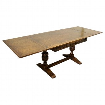 Antique Oak Refectory Table