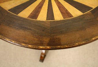 Antique Italian Snap Occasional Table