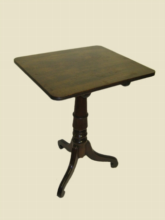 Antique Regency Mahogany Tripod Table