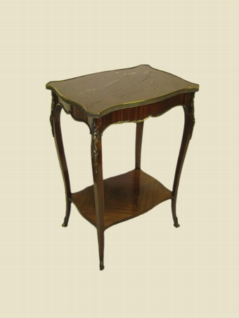 Antique French Kingwood Occasional Table