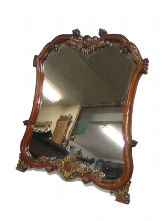 Antique French Tabletop Mirror