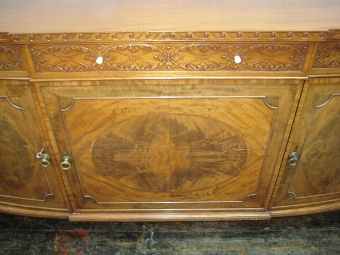 Antique Morison & Co Carved Mahogany Sideboard