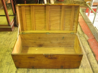 Antique Camphor Wood Kist/Trunk