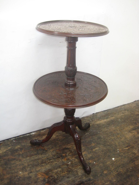 George III Mahogany Dumb Waiter